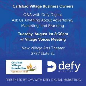 Village Voices DIY Series - Marketing Q&A with Defy Digital Marketing - Instagram
